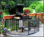 HearthGate Barbecue and Fireplace Protection Gate